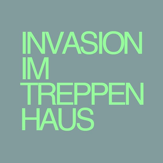 """""""Invasion im Treppenhaus"""" von Volker Zill"""