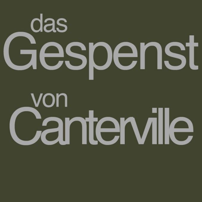 """""""Das Gespenst von Canterville"""" von Matthias Weißert"""