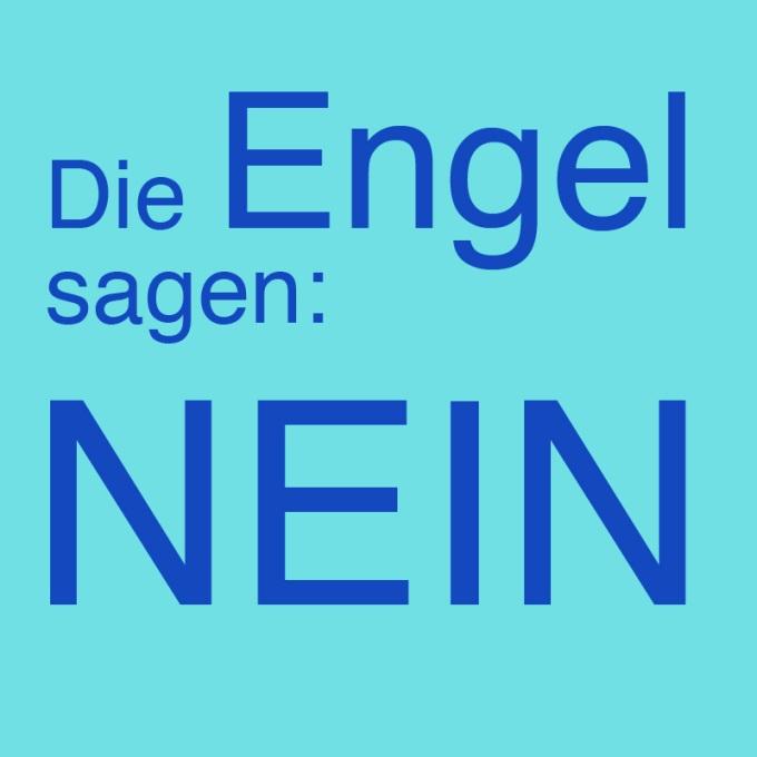 """""""Die Engel sagen: Nein"""" von Sonja Ortmanns"""