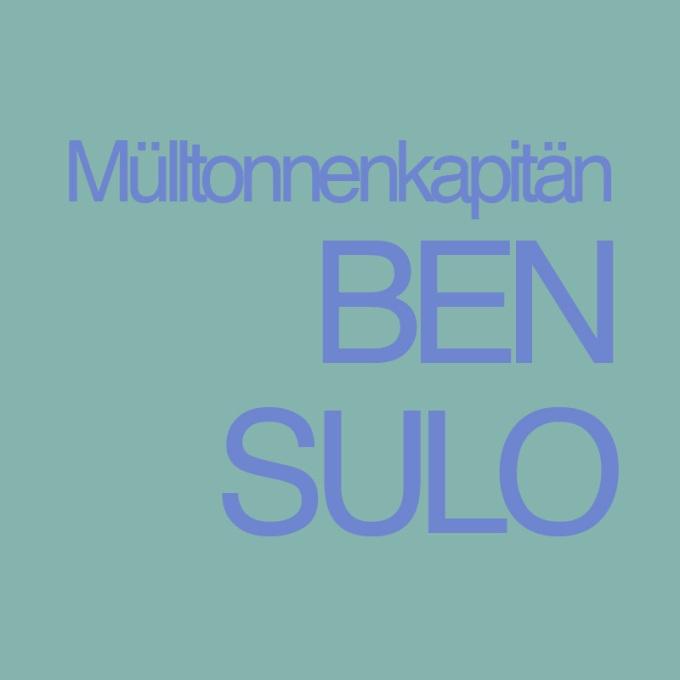"""""""Mülltonnenkapitän Ben Sulo"""" von Regina Schleheck"""