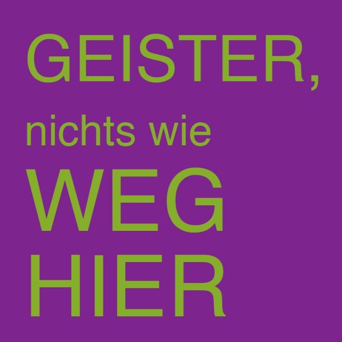 """""""GEISTER - nichts wie weg hier"""" von Volker Zill"""