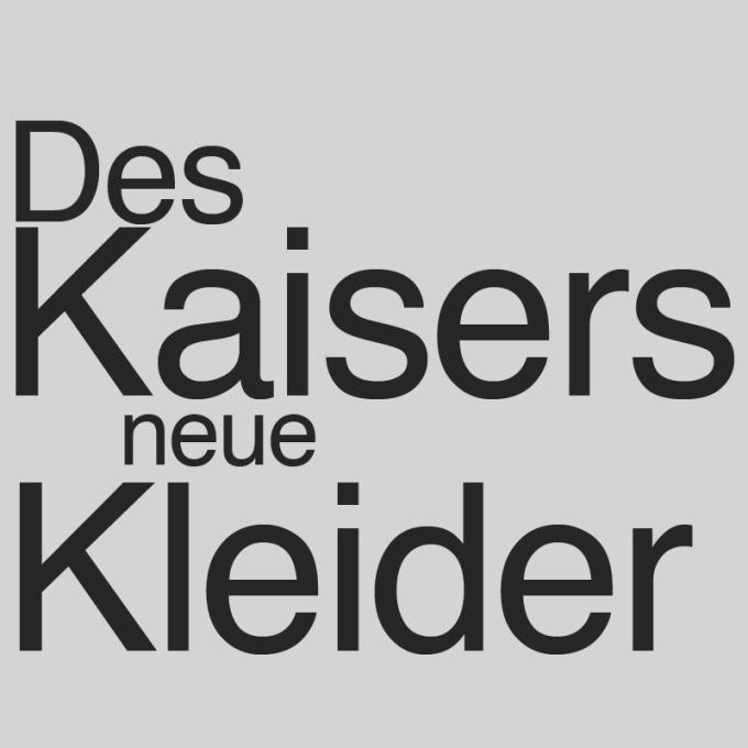 """""""Des Kaisers neue Kleider"""" von Freimund Pankow"""