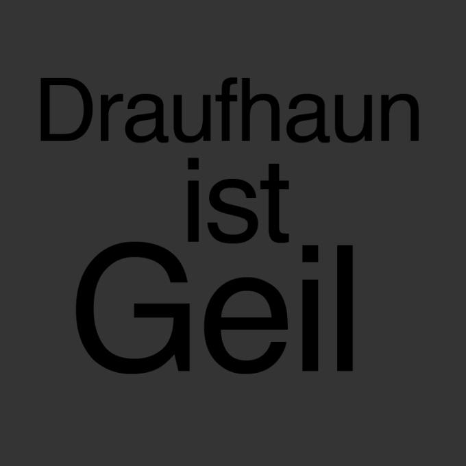 """""""Draufhaun ist geil"""" von Jutta Rehpenning"""