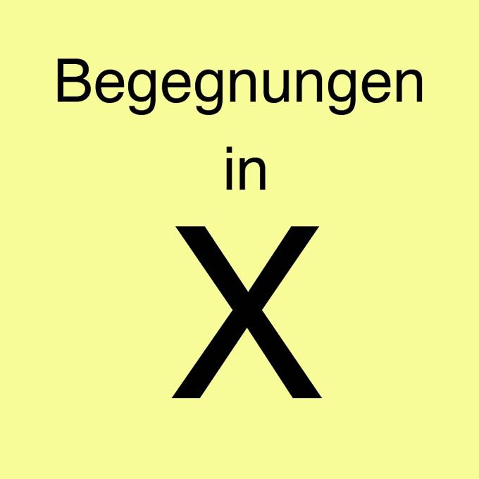 """""""Begegnung in X"""" von Bernd Storff"""