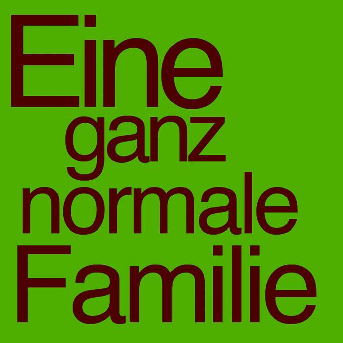 """""""Eine ganz normal Familie"""" von Irmgard Loykved"""