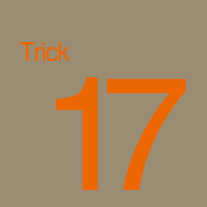 """""""Trick 17"""" von Sigrid Vorpahl"""