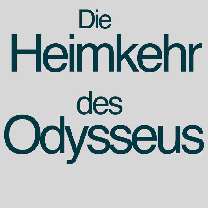 """"""" Die Heimkehr des Odysseus"""" von Inge Arnold"""