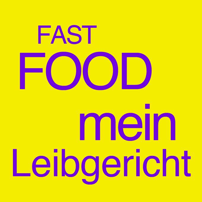 """""""Fast Food - mein Leibgericht"""" von Christina Dokter"""