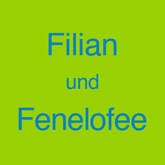 """""""Filian und Fenelofee"""" von Klaus Goehrke"""