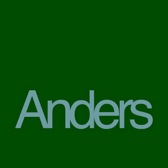 """"""" Anders """" von Werner Pöpping"""