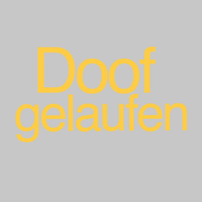 """"""" Doof gelaufen """" von Nils Heininger"""