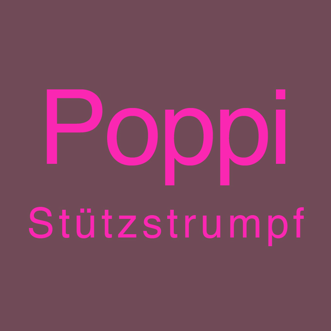 """"""" Poppi Stützstrumpf """" von Jenny Wölk"""