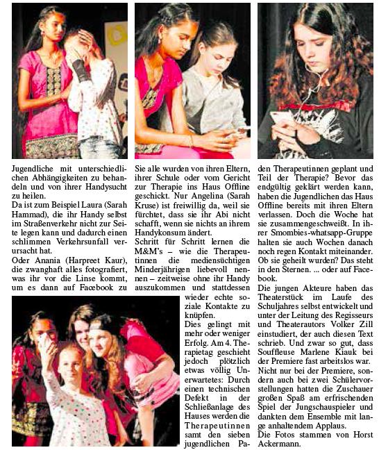 Bericht aus der Kelkheimer Zeitung vom 21.06.16