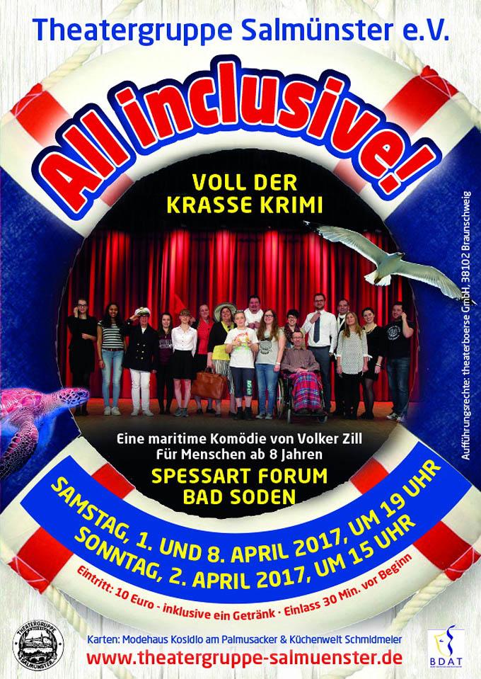 Werbeplakat der Theatergruppe-Salmünster