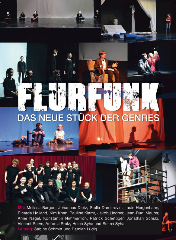 Flyer_Flurfunk_Theater Studio Frankfurt