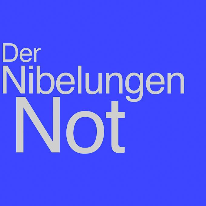 """""""Der Nibelungen Not"""" von Klaus Goehrke"""